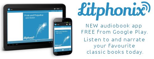 Listen to audiobooks at Litphonix